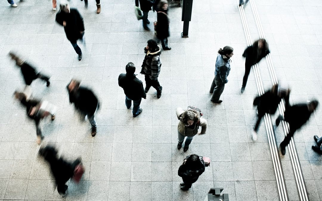 Large Scale Human Behaviors & Networks