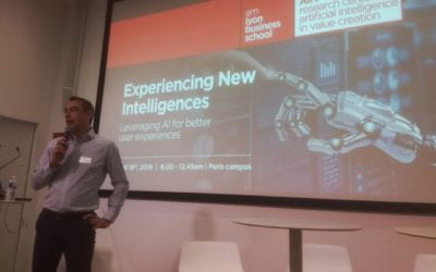 Experiencing new intelligences: Leveraging AI for better user experiences