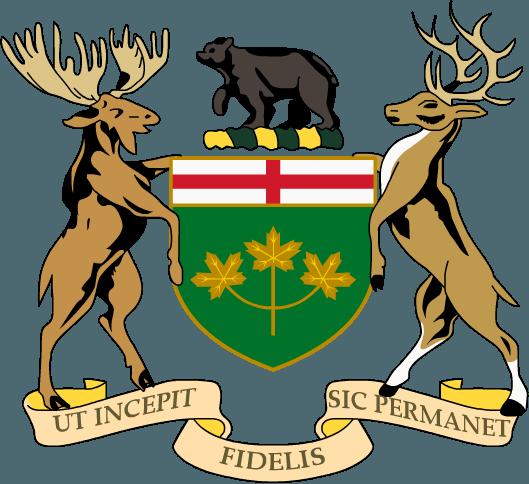 Ontario coa of arms