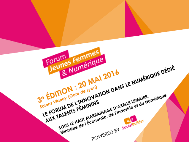 L'Incubateur, partenaire de la 3e édition du Forum Jeunes Femmes & Numérique