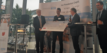 Avicen reçoit un Prix Booster lors du Grand Prix Digital Booster