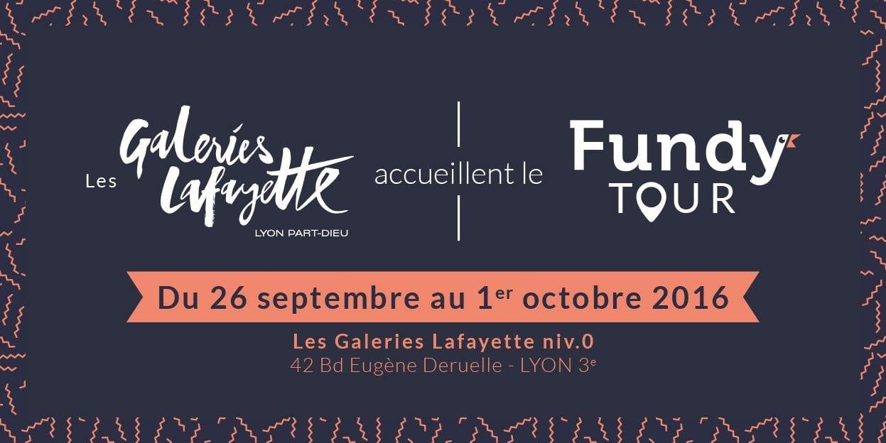 Fundy accueillie dans les Galeries Lafayette !