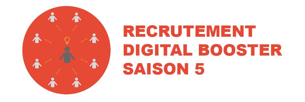 Top départ pour le recrutement Digital Booster