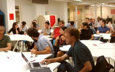 Living Lab : pitch, échanges et rencontres entre les start-up et les acteurs de l'écosystème emlyon business school