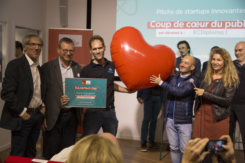 BCDiploma, Coup de cœur du Public du EdJobTech Day de l'Accelerateur emlyon business school