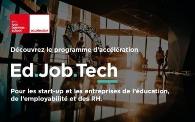 Ouverture des candidatures EdJobTech session #3 : tout savoir sur le programme