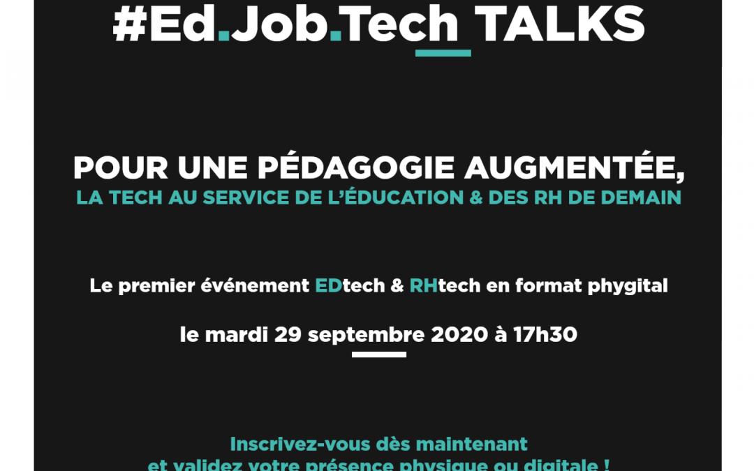 Programme EdJobTech : événement de clôture de la session #2 le 29 septembre !