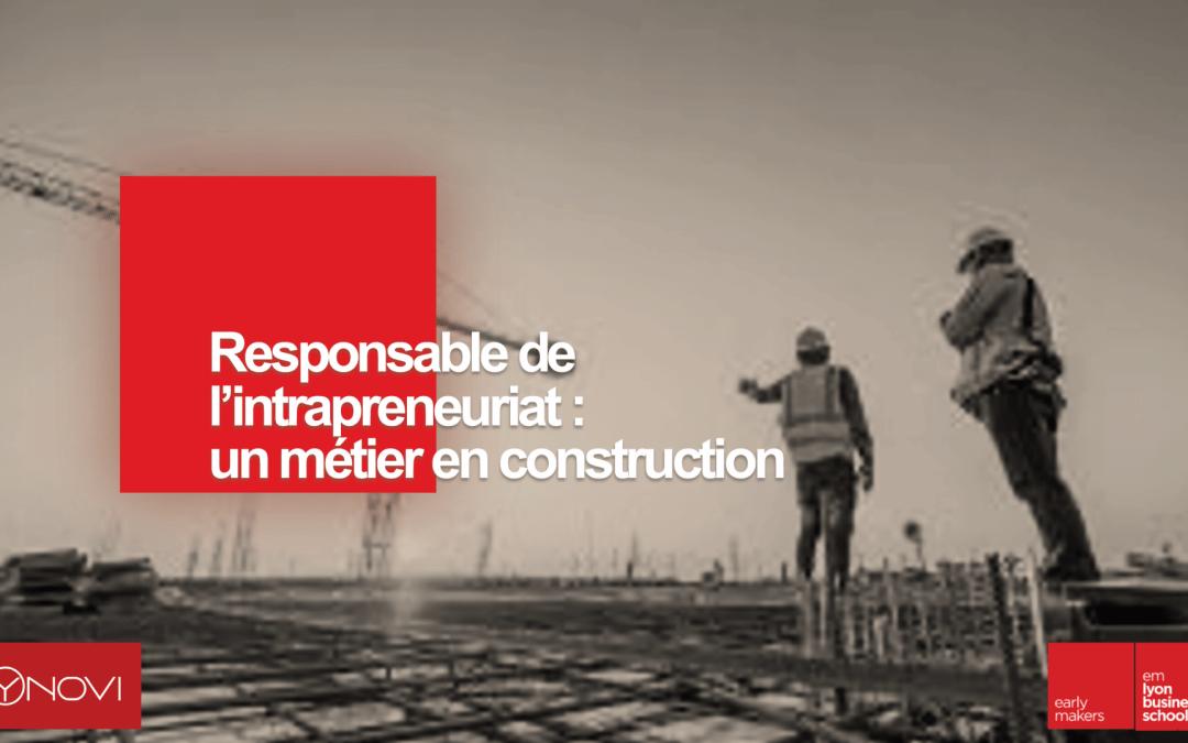 LIVRE BLANC – Responsable de l'intrapreneuriat : un métier en construction
