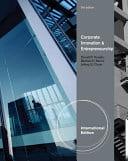 Corporate innovation and Entrepreneurship : Entrepreneurial Development Within Organizations