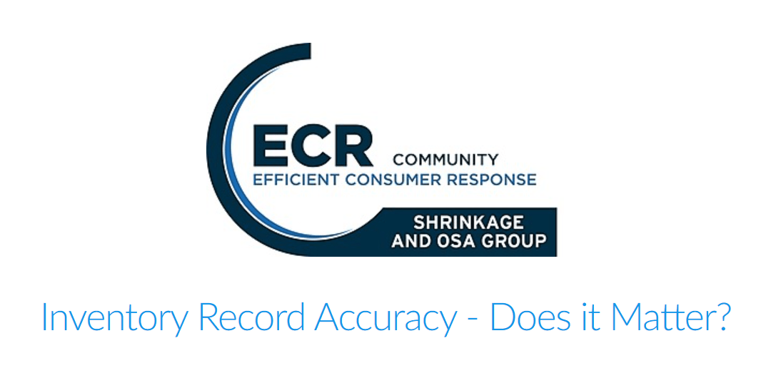 Webinar : Inventory Record Accuracy – Does it matter? | 19 November – 15pm